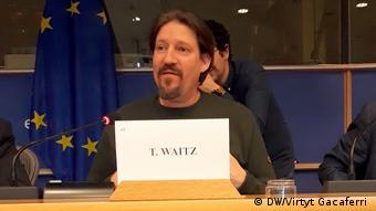 Europa-Parlament Reportage für Redaktion Albanien
