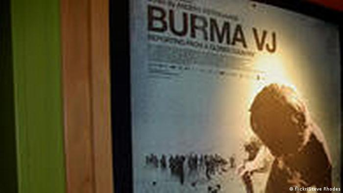 Film poster preview of Burma VJ Reporting from a closed country Photo source: Flickr