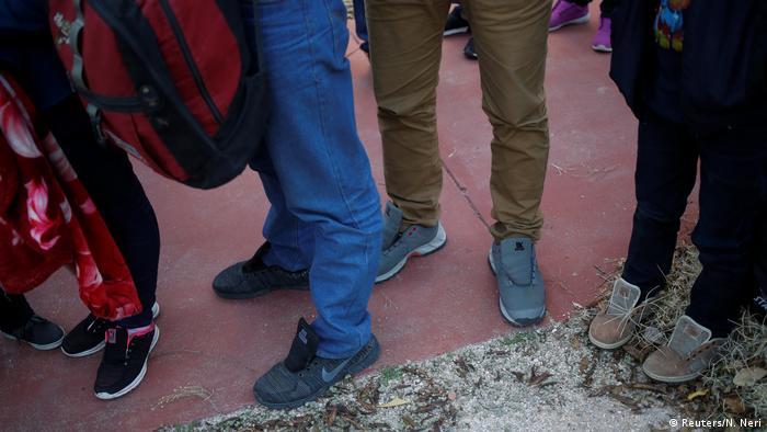 Bildergalerie Kloster und Motel in Arizona werden zu Flüchtlingsunterkünften (Reuters/N. Neri)