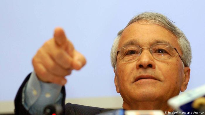 Algerien möglicher Präsidentschaftskandidat Chakib Khelil (Imago/Imagespic Agency)