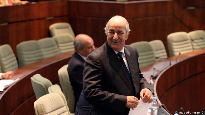 Algerien möglicher Präsidentschaftskandidat Abdelmadjid Tebboune (Imago/PanoramiC)