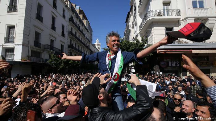 Algerien möglicher Präsidentschaftskandidat Geschäftsmann Rachid Nekkaz (Imago/Zuma/B. Bensalem)