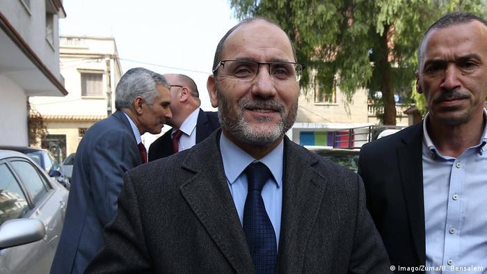 Algerien möglicher Präsidentschaftskandidat Abderrazak Makri (Imago/Zuma/B. Bensalem)