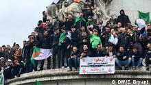 Frankreich Proteste gegen Regierung in Algerien