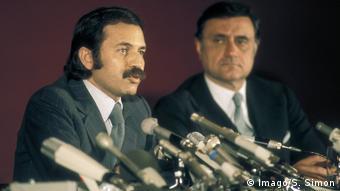 O Aμπντελαζίζ Μπουτεφλίκα ως υπ. Εξωτερικών της Αλγερίας το 1978
