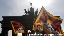 Berlin - Protestival for Tibet Demonstration für Menschenrechte in Tibet