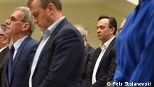 Nord-Mazedonien Justiz l Wahlmanipulation