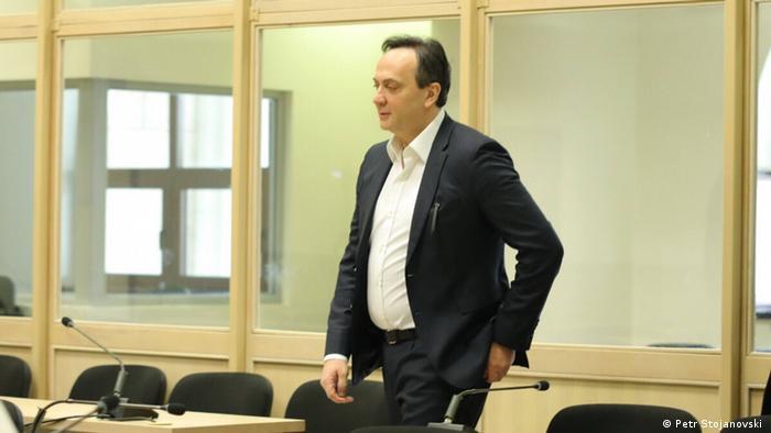 Nord-Mazedonien Justiz l Wahlmanipulation - Angeklagte Saso Mijalkov
