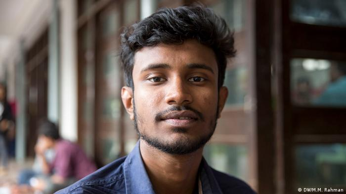 Bangladesch Menschen und ihre Meinung zur VIP-Kultur (DW/M.M. Rahman)