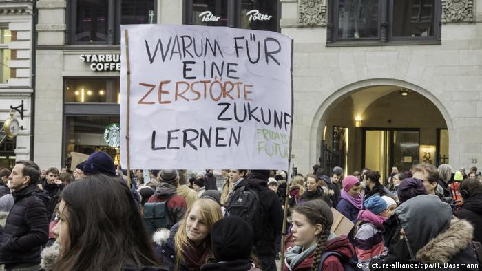 Hamburg - Demonstration Fridays for Future