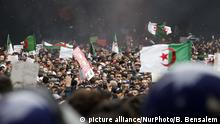 Algerien Präsidentschaftswahlen l Proteste