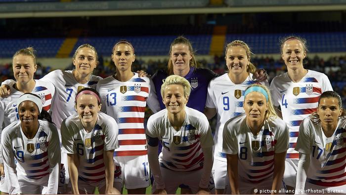 USA Fussball - Nationalmannschaft Frauen