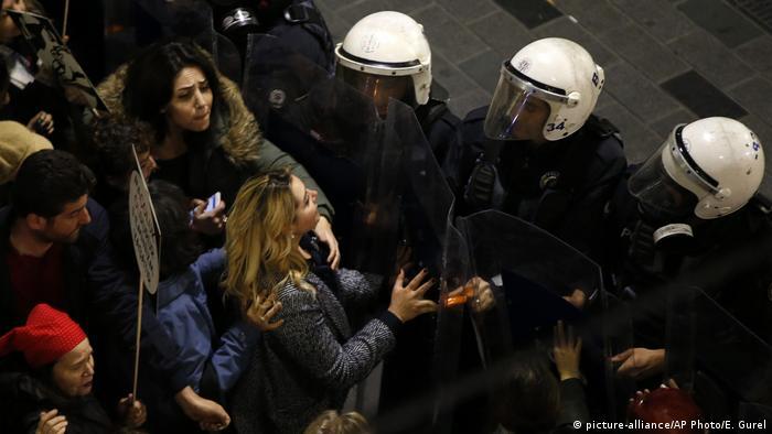 Türkei Internationaler Weltfrauentag in Istanbul