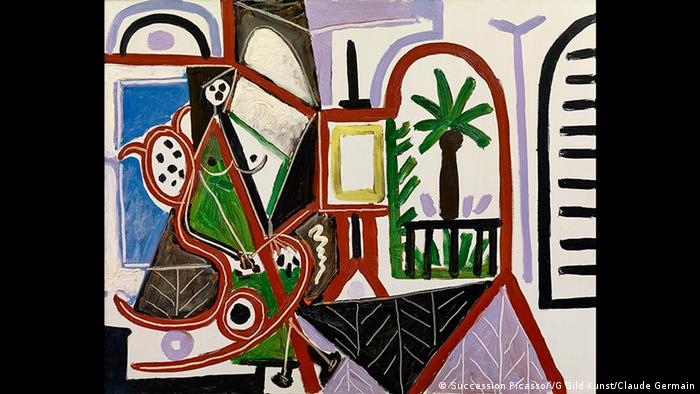 An abstract interior painting by Picasso (Succession Picasso/VG Bild-Kunst/Claude Germain)