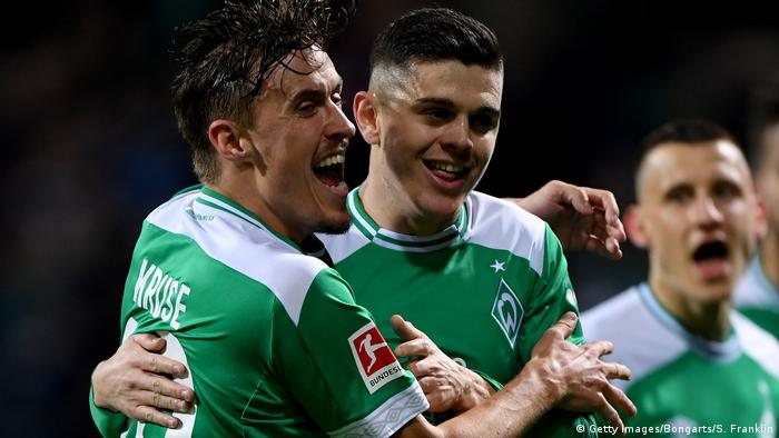 Bundesliga 25. Spieltag | Werder Bremen vs. FC Schalke 04 | 3. TOR Bremen (Getty Images/Bongarts/S. Franklin)