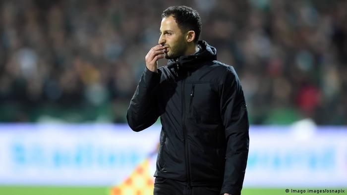 Bundesliga 25. Spieltag   Werder Bremen vs. FC Schalke 04   Domenico Tedesco