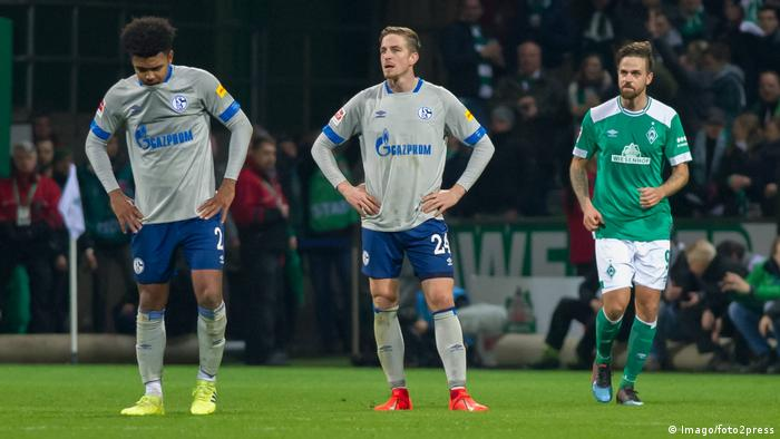 Schalke have had a tough time in the Bundesliga this season (Imago/foto2press)