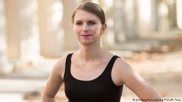 Großbritannien Chelsea Manning, ehemaliger US-Soldat & Whistleblowerin (picture-alliance/Zuma Press/R. Tang)