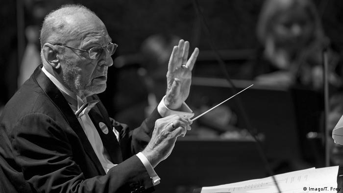 Deutschland Dirigent Michael Gielen & SWR Sinfonieorchester