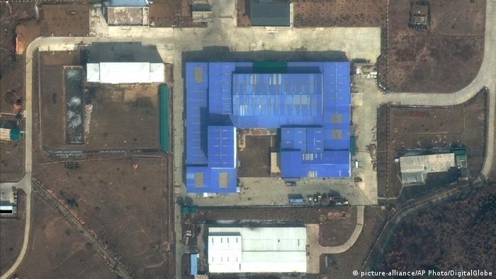 Nordkorea Satellitenbild Forschungszentrum Sanumdong (picture-alliance/AP Photo/DigitalGlobe)