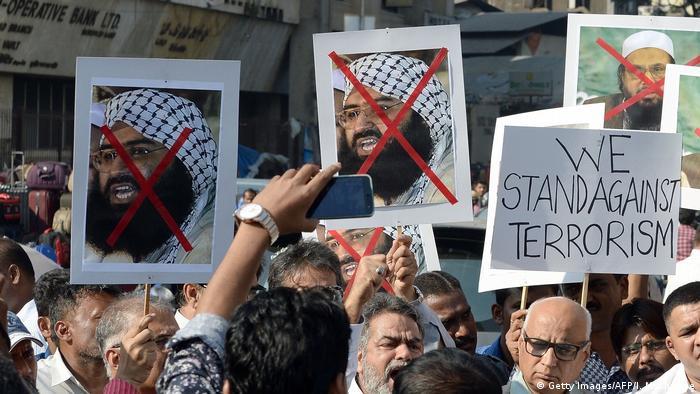 بھارت میں حافظ سعید، جیش محمد اور مسعود اظہر کے خلاف احتجاج، فائل فوٹو
