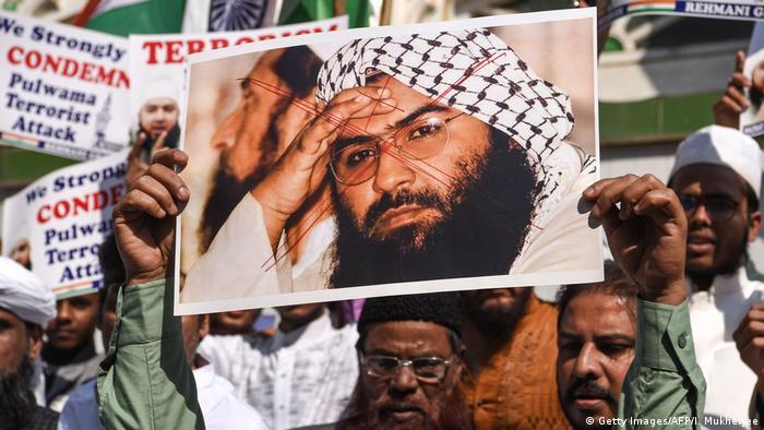 Indien Mumbai Proteste von Muslime gegen radikale Islamisten aus Pakistan