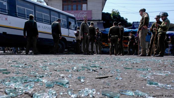 Indien Jammu Granatenexplosion Busbahnhof (Getty Images/AFP/R. Bakshi)