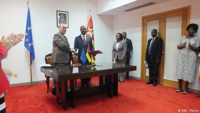Mosambik GD DEVCO Kooperationsvereinbarung