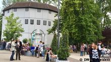 Globe Theater in Neuss. (c) DW/Medana Weident