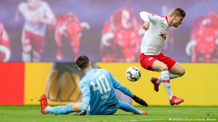 Fussball Bundesliga l RB Leipzig vs FC Augsburg (picture alliance/dpa/J. Woitas)
