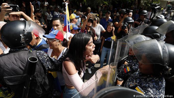 Venezuela Krise l Proteste