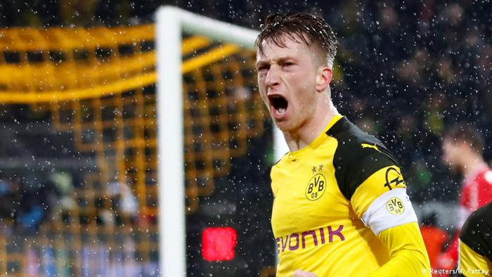 Marco Reus has been a key figure for Borussia Dortmund this season (Reuters/W. Rattay)