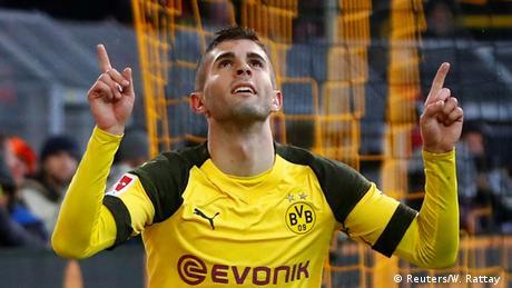 Bundesliga Borussia Dortmund v VfB Stuttgart   Jubel Pulisic (Reuters/W. Rattay )