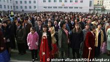 10.03.2019 +++ North Koreans wait for their turn to vote during the election at a polling station in Pyongyang, North Korea, Sunday, March 10, 2019. Millions of North Korean voters, including leader Kim Jong Un, are going to the polls to elect roughly 700 members to the national legislature. In typical North Korean style, voters are presented with just one state-sanctioned candidate per district and they cast ballots to show their approval or, very rarely, disapproval. (AP Photo/Dita Alangkara) |