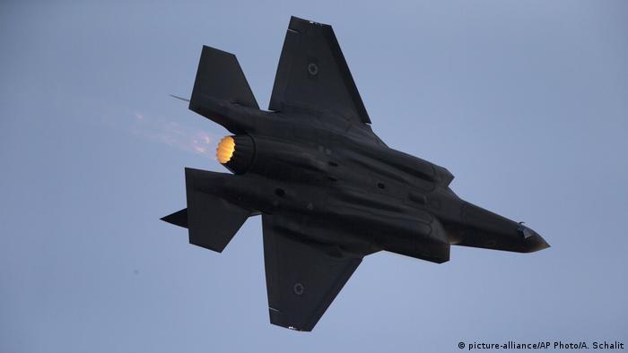 جنگنده بمبافکن اف-۳۵ ارتش اسرائیل