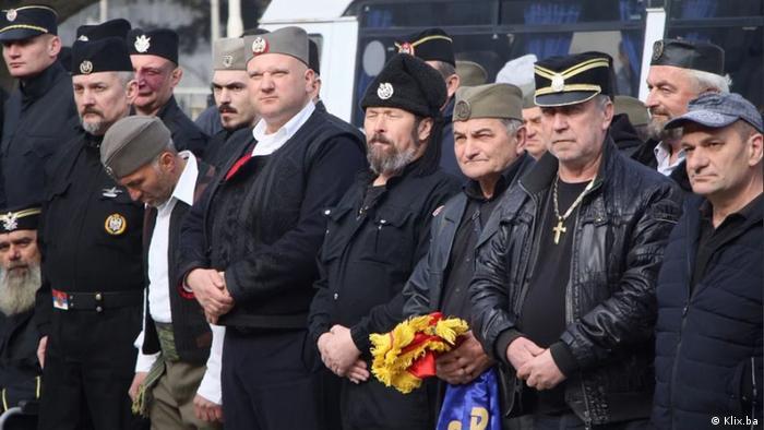 Sudionici okupljanja četnika u Višegradu
