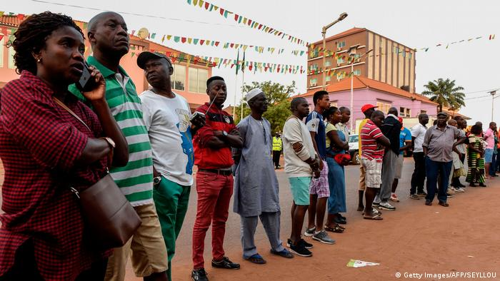 Guinea-Bissau Parlamentswahlen (Getty Images/AFP/SEYLLOU)