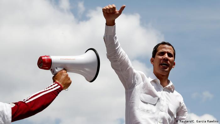 Venezuela Oppositionsführer Guaidó ruft zu landesweitem Protestmarsch auf
