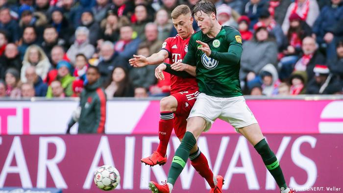 Bundesliga FC Bayern München vs VFL Wolfsburg - Kimmich (Imago/EIBNER/T. Weller)