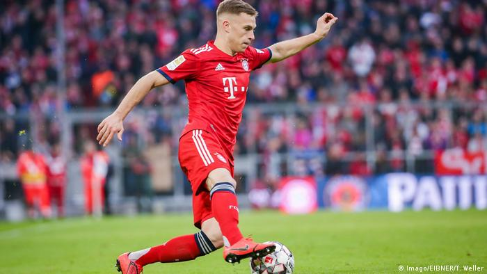 Joshua Kimmich scored in Bayern's 6-0 win on Saturday (Imago/EIBNER/T. Weller)