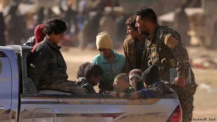 Syrien Baghus l Kurden starten finale Offensive gegen IS (Reuters/R. Said)