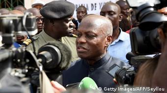 Guinea-Bissau Wahlen - Präsident Jose Mario Vaz