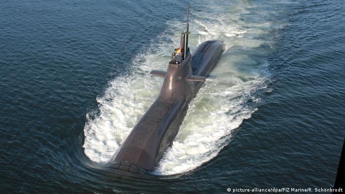 Unterseeboot U32 der Klasse 212A (picture-alliance/dpa/PIZ Marine/R. Schönbrodt)