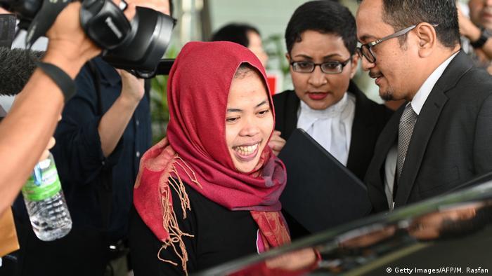 Обвиняемую в убийстве брата Ким Чен Ына освободили