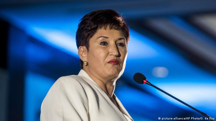 Thelma Aldana aspira a la presidencia de Guatemala
