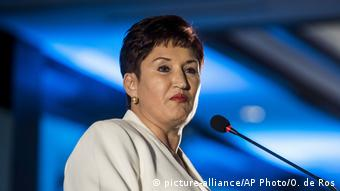 Thelma Aldana, ex fiscal general de Guatemala. (picture-alliance/AP Photo/O. de Ros)