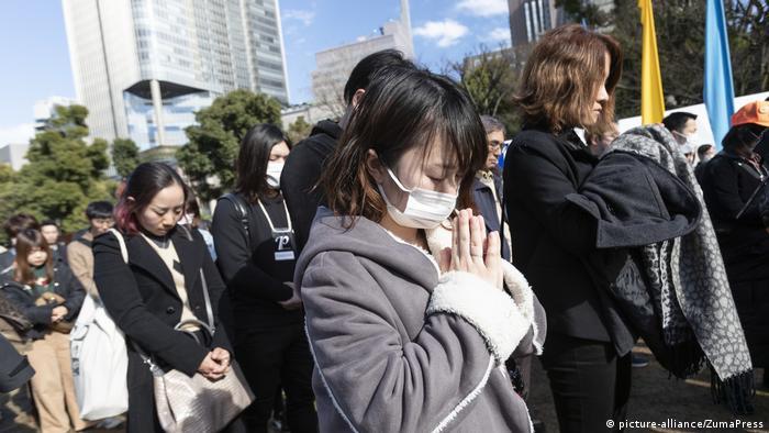 Japan 8. Jahrestag der Tsunami- und Atomkatastrophe