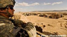 Afghanistan Zabul - U.S. Soldat