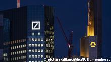 Commerzbank und Deutsche Bank in Frankfurt