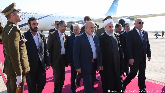 Irak Staatsbesuch Hassan Rohani (picture-alliance/dpa/Arman/Iranian Presidency)